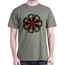 Flower in black - T-Shirt