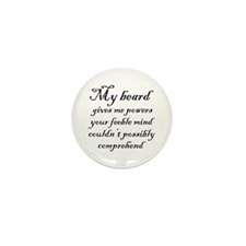 Beard Powers Mini Button (100 pack)