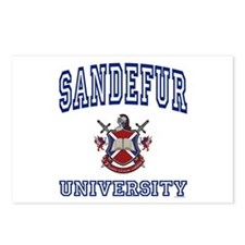 SANDEFUR University Postcards (Package of 8)
