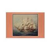 Tall Ship Gift Rectangle Magnet (10 pack)