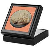 Tall Ship Gift Keepsake Box