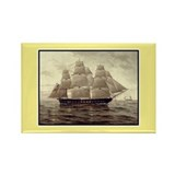 Tall Ship Rectangle Magnet (10 pack)