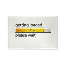 Funny Guzzle Rectangle Magnet (10 pack)