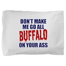 Buffalo Football Pillow Sham