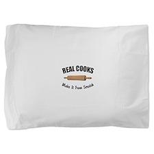 FIN-real-cooks-scratch.png Pillow Sham