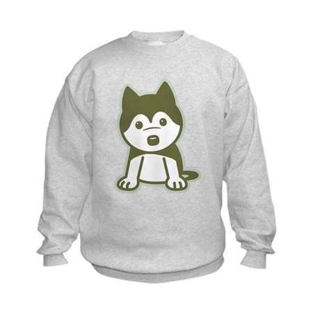 Husky Puppy Kids Sweatshirt