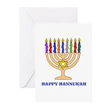Hannukah Menorah Greeting Cards (Pk of 20)