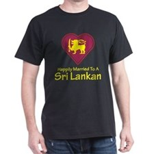 Happily Married Sri Lankan T-Shirt