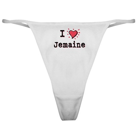 I Heart Jemaine Classic Thong