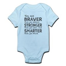 Braver Stronger Smarter Body Suit