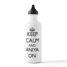 Keep Calm and Aniya ON Water Bottle