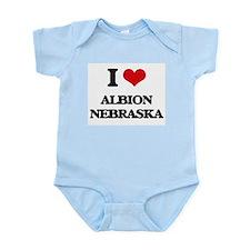 I love Albion Nebraska Body Suit