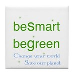 beSmart beGreen Tile eco Coaster