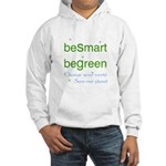 beSmart beGreen Hooded eco Sweatshirt