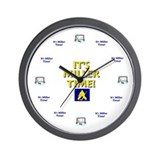 Cute Hockey Wall Clock