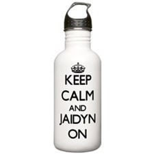 Keep Calm and Jaidyn O Water Bottle