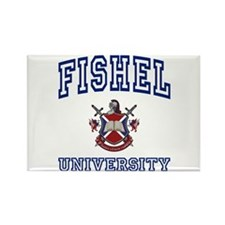 FISHEL University Rectangle Magnet