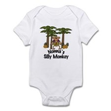 Nonna's Silly Monkey Boy Baby/Toddler bodysuits