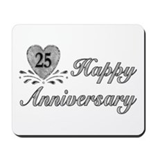 25th Anniversary - Silver Mousepad