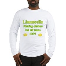 Italian Limoncello Long Sleeve T-Shirt