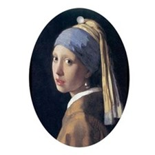 Girl with a Pearl Earring Ornament
