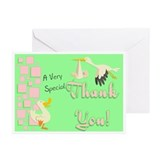 Thank You (squares) Greeting Cards (Pk of 10)