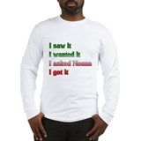 I Asked Nonna Long Sleeve T-Shirt
