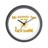 Ray Of Sunshine (Son) Wall Clock