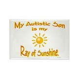 Ray Of Sunshine (Son) Rectangle Magnet