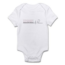 Scrubs Heartline Infant Bodysuit