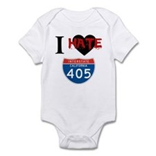 I Hate The I405 Infant Bodysuit