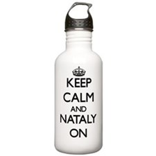 Keep Calm and Nataly O Water Bottle