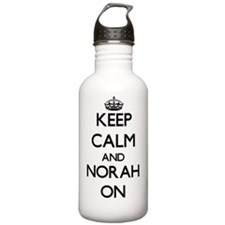 Keep Calm and Norah ON Water Bottle