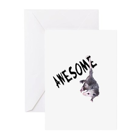 Awesome Possum Greeting Cards (Pk of 10)