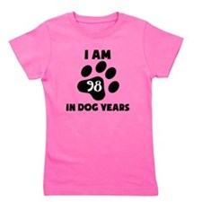 14th Birthday Dog Years Girl's Tee