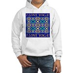 I Love Yoga! Hooded Sweatshirt