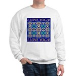 I Love Yoga! Sweatshirt