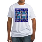 I Love Yoga! Fitted T-Shirt