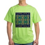I Love Yoga! Green T-Shirt