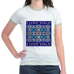 I Love Yoga! Jr. Ringer T-Shirt