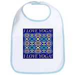 I Love Yoga! Bib