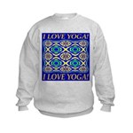 I Love Yoga! Kids Sweatshirt