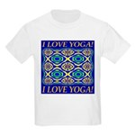 I Love Yoga! Kids Light T-Shirt