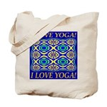 I Love Yoga! Tote Bag