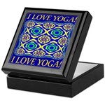 I Love Yoga! Keepsake Box
