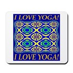 I Love Yoga! Mousepad