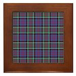 Tartan-MacDonald of Clanranald Framed Tile