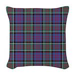Tartan-MacDonald of Clanranald Woven Throw Pillow