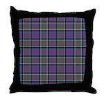 Tartan-MacDonald of Clanranald Throw Pillow