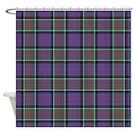 Tartan-MacDonald of Clanranald Shower Curtain